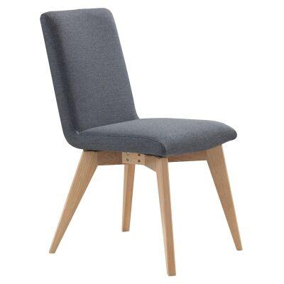 Morrisa Fabric Dining Chair, Grey