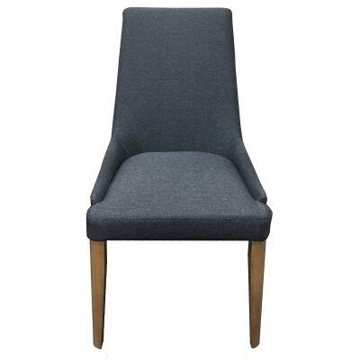 Georgia Fabric Dining Chair, Grey