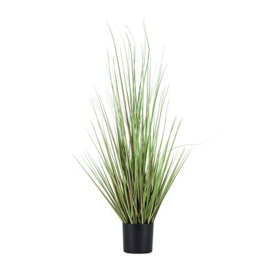 Potted Artificial Bunch Wire Grass, 90cm