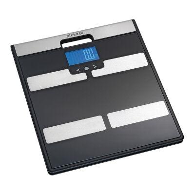 Brabantia Body Analysis Bathroom Scale, Black