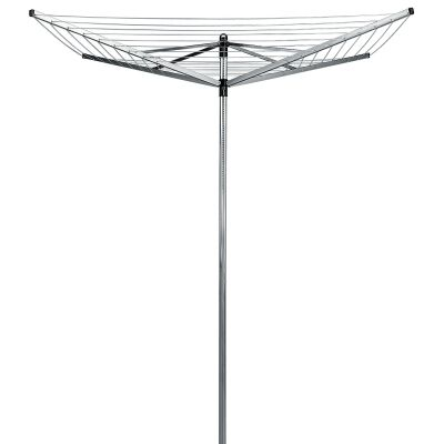 Brabantia Lift-O-Matic Rotary Clothes Line Dryer, 4 Arm / 50m