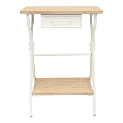 Fiore Wood & Metal French Sewing Table