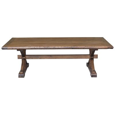 Bordeaux Reclaimed Elm Timber Coffee Table, 150cm