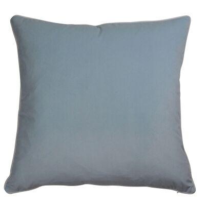 Rodeo Velvet Euro Cushion Cover, Pale Blue