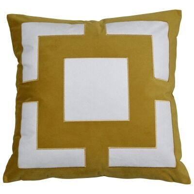 Cremorne Velvet Scatter Cushion Cover, Gold