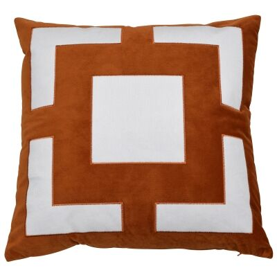 Cremorne Velvet Scatter Cushion Cover, Rust