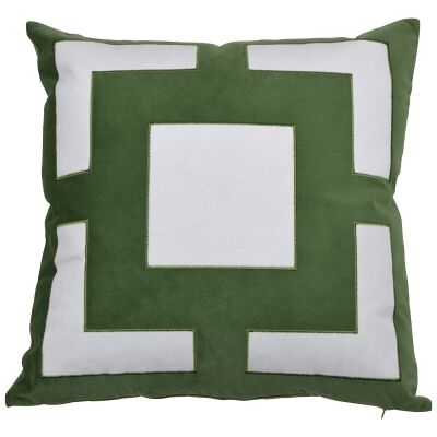 Cremorne Velvet Scatter Cushion Cover, Olive