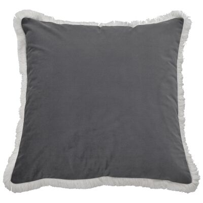 St. Kilda Velvet Scatter Cushion Cover, Grey