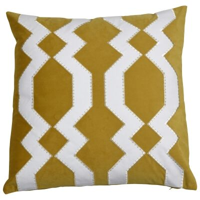 Mosman Velvet Scatter Cushion Cover, Gold