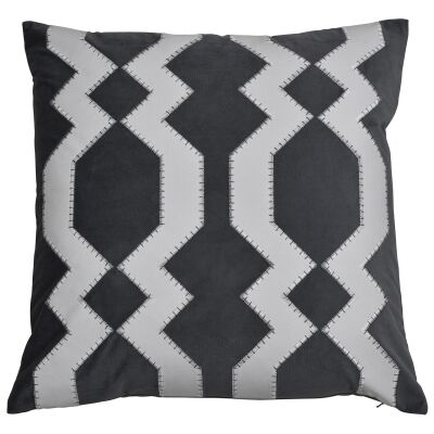 Mosman Velvet Scatter Cushion Cover, Grey