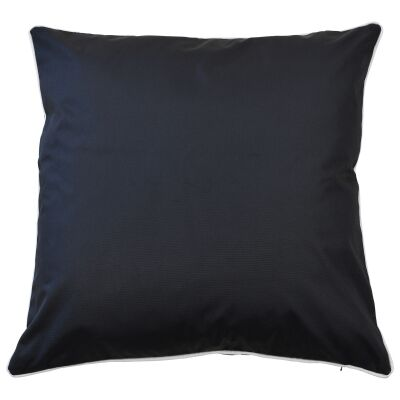 Monte Carlo Outdoor Scatter Cushion Cover, Black