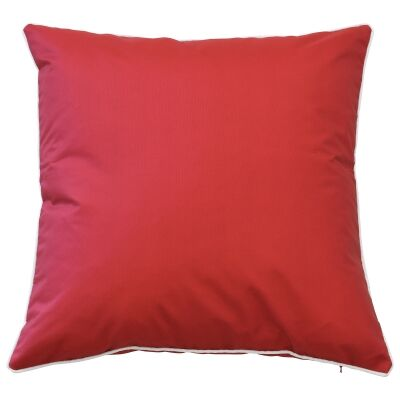 Monte Carlo Outdoor Scatter Cushion Cover, Red