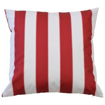 Capri Outdoor Scatter Cushion Cover, Red