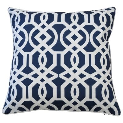 Portofino Outdoor Scatter Cushion Cover, Navy