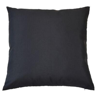 Miami Fabric Indoor / Outdoor Euro Cushion Cover, Black