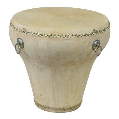 Empress Drum Table, Natural