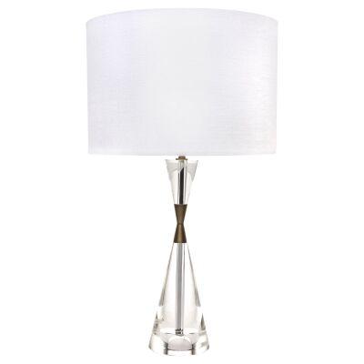 Spirit Crystal Glass Base Table Lamp