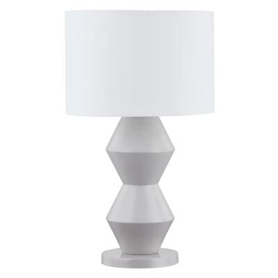 Abstract Table Lamp, Grey