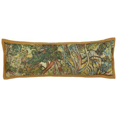 Beddinghouse Van Gogh Garden of the Asylum Cotton Lumbar Cushion