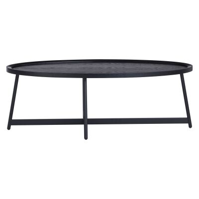 Wagner Tray Top Oval Coffe Table, 120cm