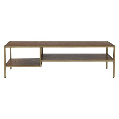 Willingham Wood & Metal Coffee Table, 140cm
