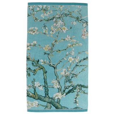 Beddinghouse Van Gogh Almond Blossom Cotton Beach Towel, 100x180cm