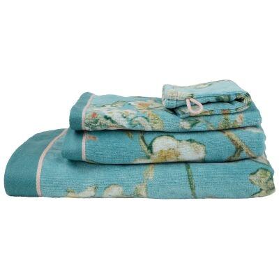 Beddinghouse Van Gogh Almond Blossom Cotton Wash mitt