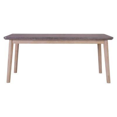 Corbin Acacia Timber Dining Table, 160cm
