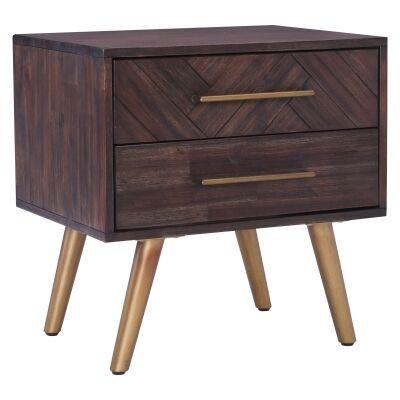 Sivan Acacia Timber Bedside Table