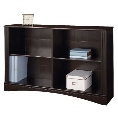 Cubic Low Bookcase, Cinnamon Cherry