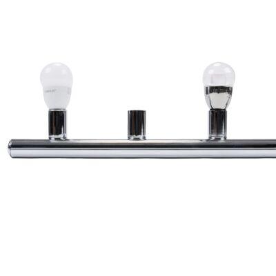 HL-804 Hollywood Vanity Light, 6 Light, Chrome