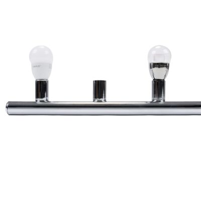 HL-804 Hollywood Vanity Light, 8 Light, Chrome