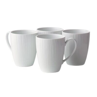 Noritake Conifere 4 Piece Fine Porcelain Mug Set