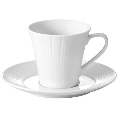 Noritake Conifere Fine Porcelain Coffee Cup & Saucer Set