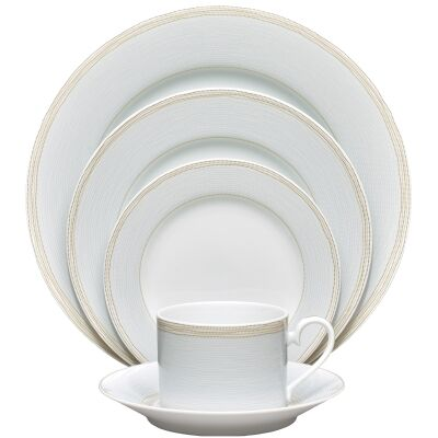 Noritake Linen Road 20 Piece Fine China Dinner Set