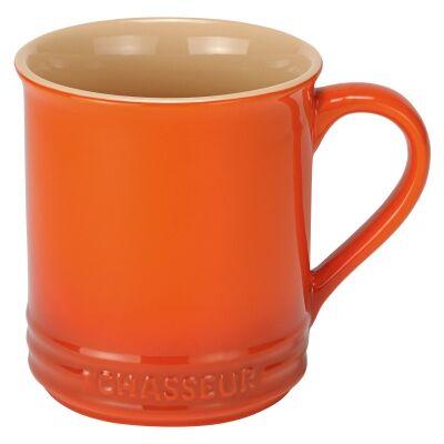 Chasseur La Cuisson Mug, 350ml, Orange
