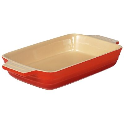 Chasseur La Cuisson 26x17cm Rectangular Baking Dish - Red