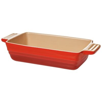 Chasseur La Cuisson 22x13cm Loaf Baker - Red