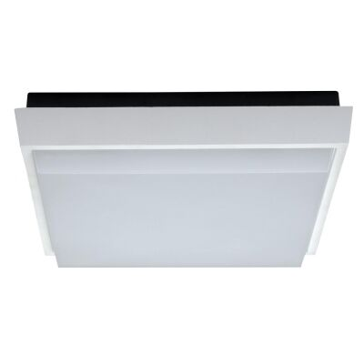 TAB IP54 Indoor / Outdoor LED Oyster Light, 3000K, 24cm, White