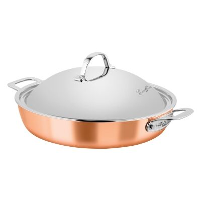 Chasseur Escoffier 32cm Chef Pan with Lid