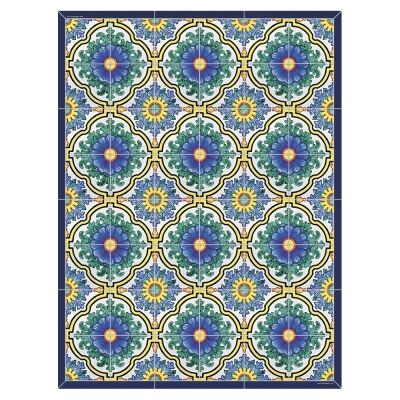 Telki Milano Positano Italian Made Floor Mat, 160x60cm