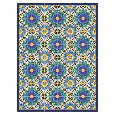 Telki Milano Positano Italian Made Floor Mat, 198x120cm
