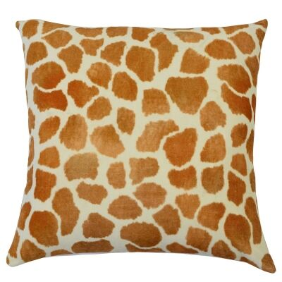 Safari Giraffe Velvet European Pillowcase