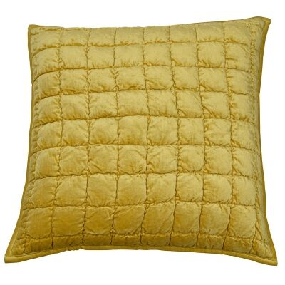 Audrey Velvet Scatter Cushion Cover, Gold