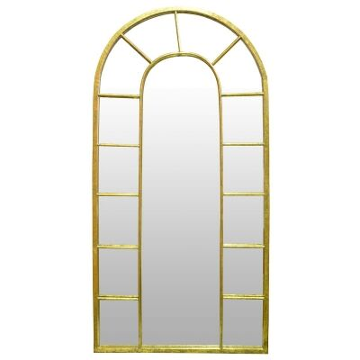 Pavlos Iron Frame Floor Mirror, 177cm