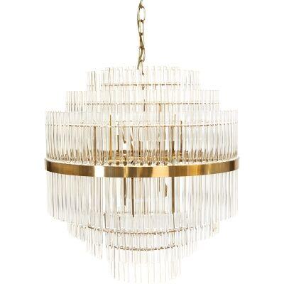 Lawrence Crystal Rod Pendant Light