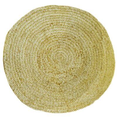 Morsheed Round Jute Rug, 120cm