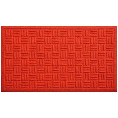 Cox Felt Doormat, 75x45cm, Red