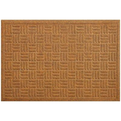 Cox Felt Doormat, 75x45cm, Brown