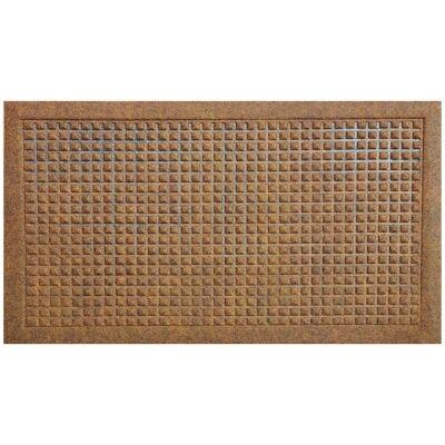 Cedric Felt Doormat, 75x45cm, Brown